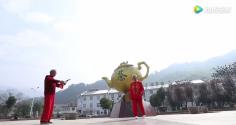 霍山传统民俗-大化坪单人连响舞